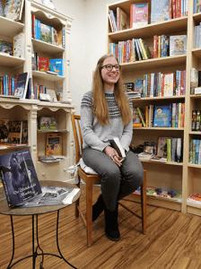 Alina Schüttler Lesung Buchhandlung Jakobi 2